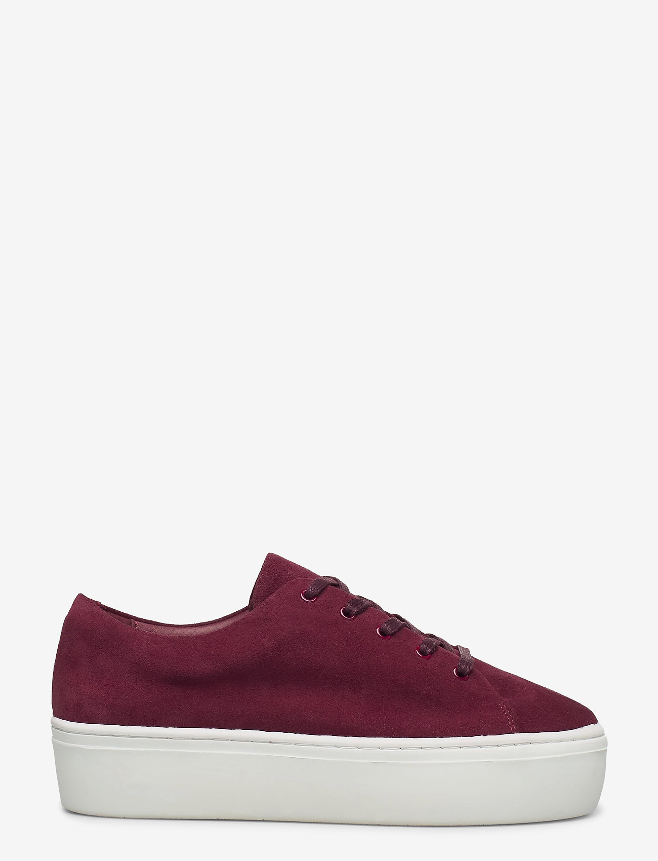 Jennie-Ellen - BAE - lage sneakers - burgundy suede leather - 1
