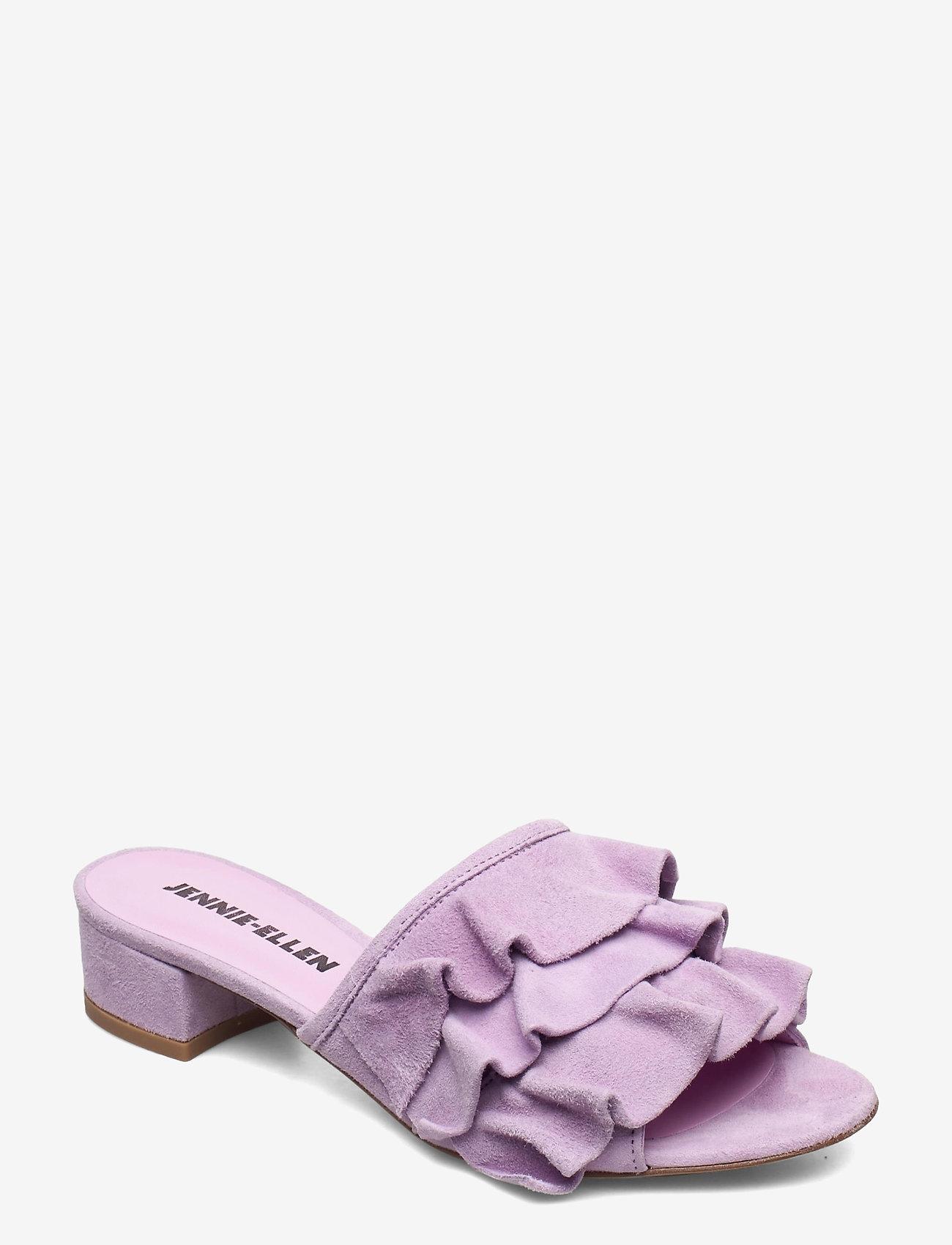 Jennie-Ellen - Maxi - mules & slipins - purple suede leather - 1