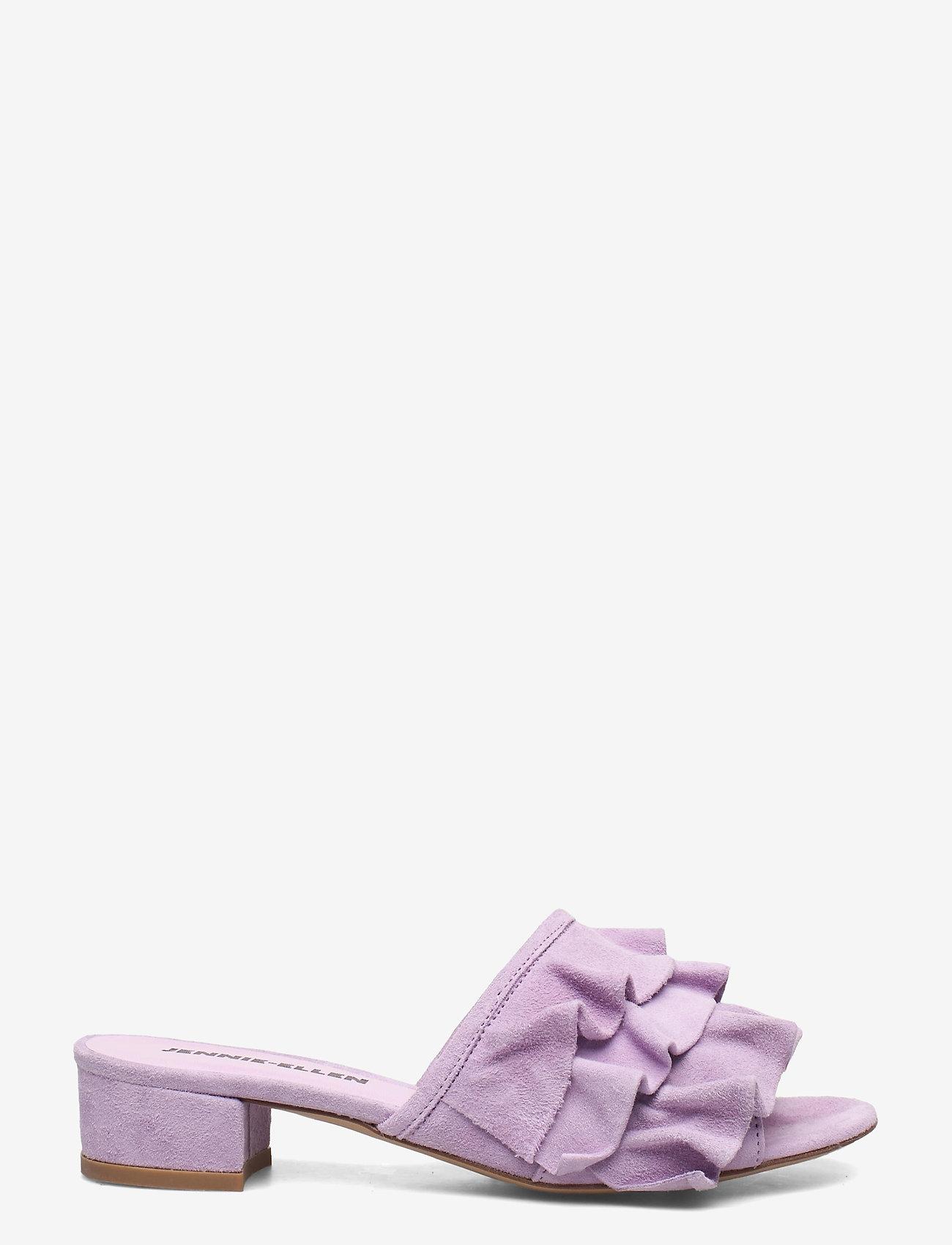 Jennie-Ellen - Maxi - mules & slipins - purple suede leather - 0