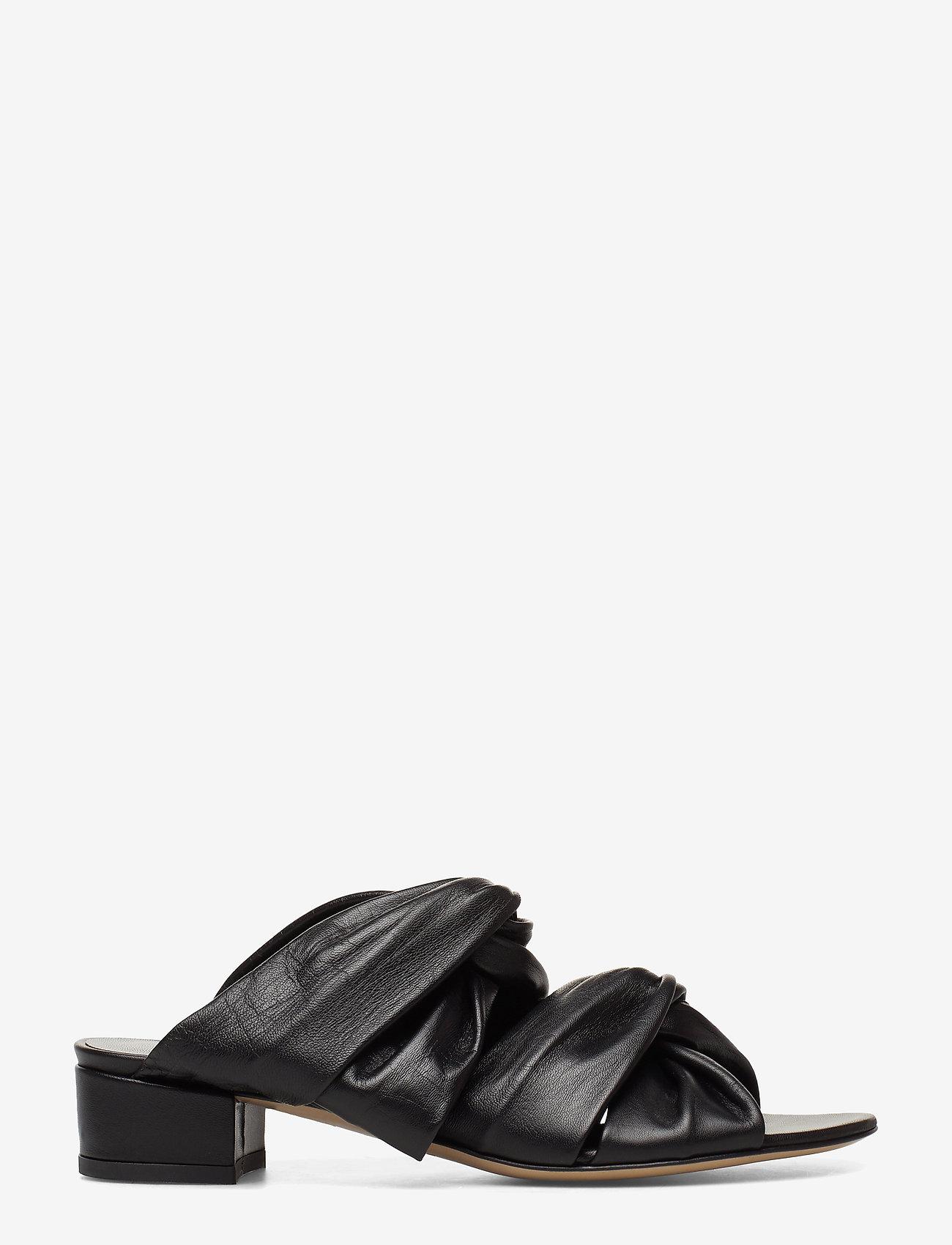 Jennie-Ellen - Mae - mules & slipins - black leather - 1