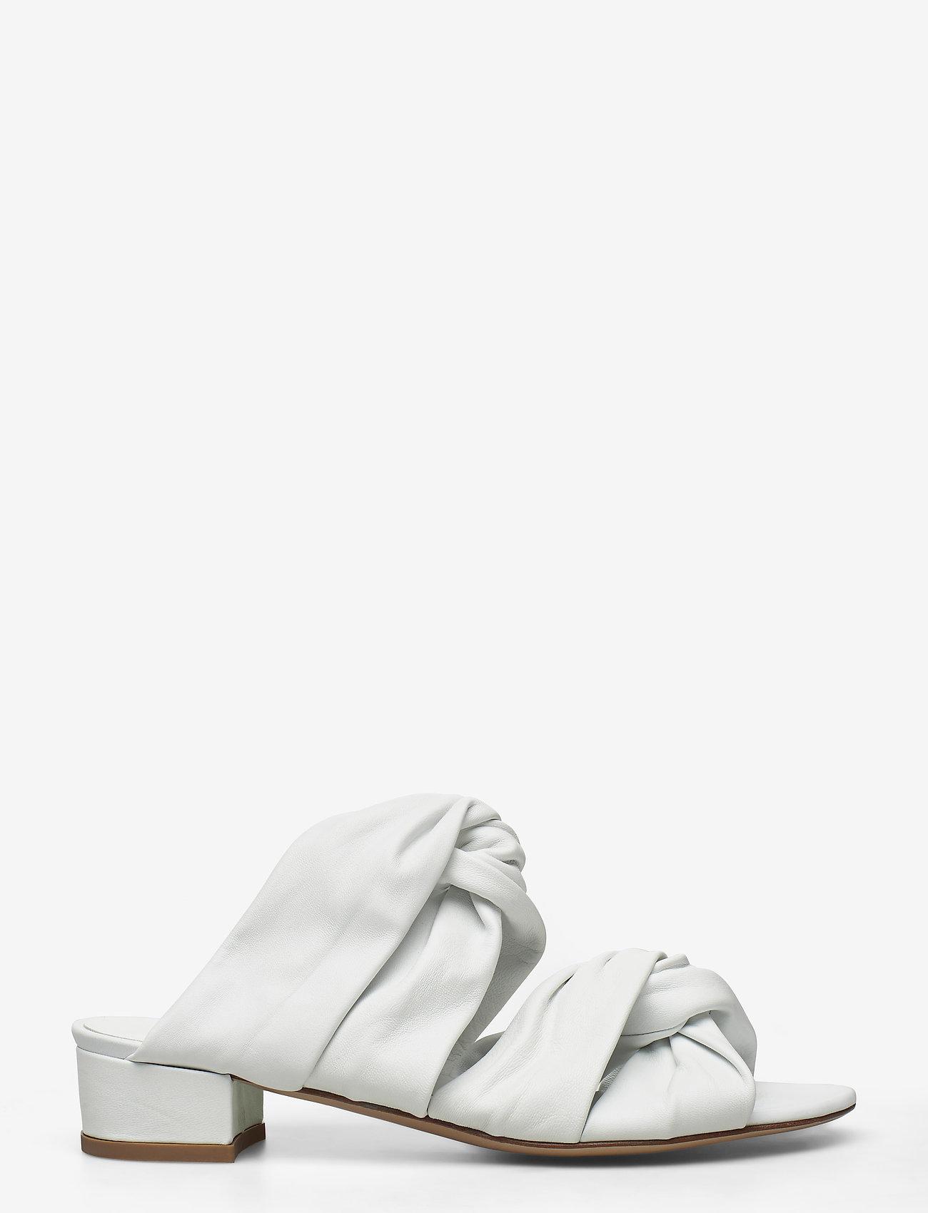 Jennie-Ellen - Mae - mules & slipins - white leather - 0