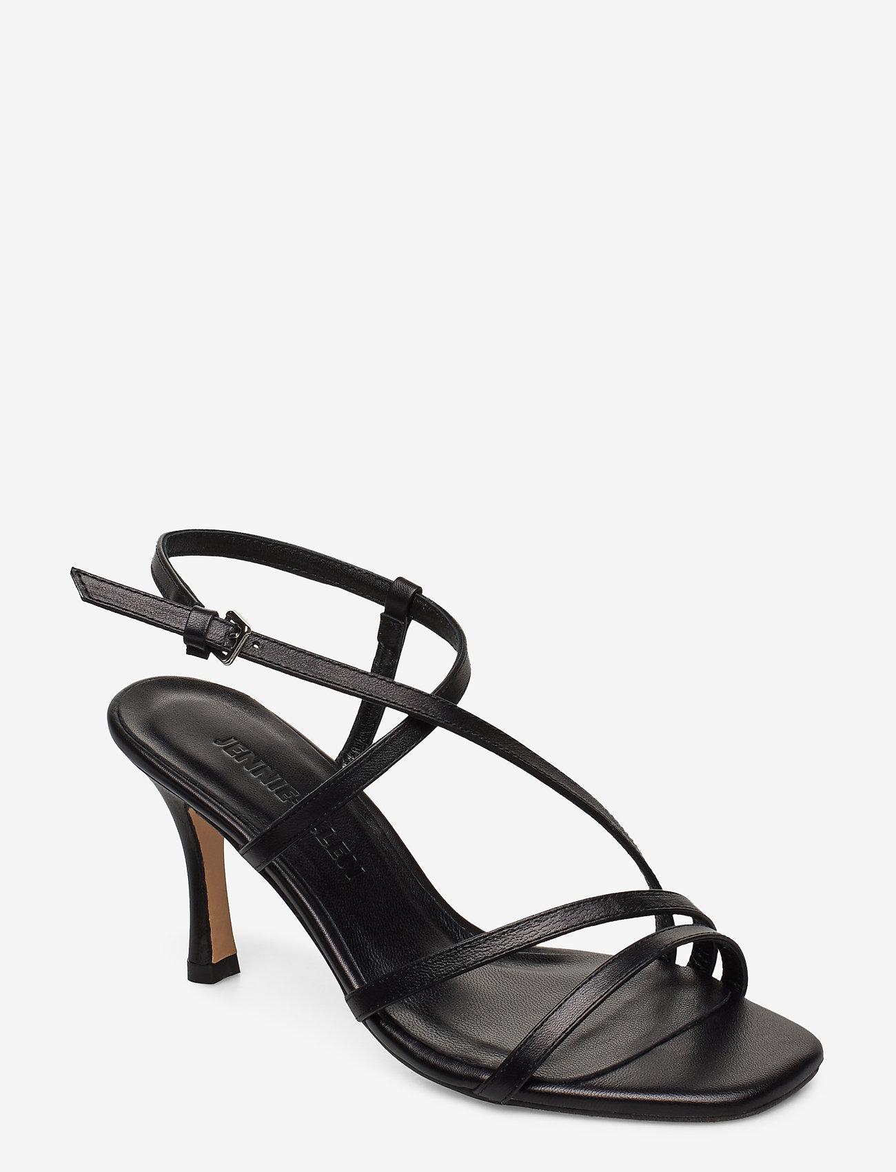Jennie-Ellen - Anais - høyhælte sandaler - black leather