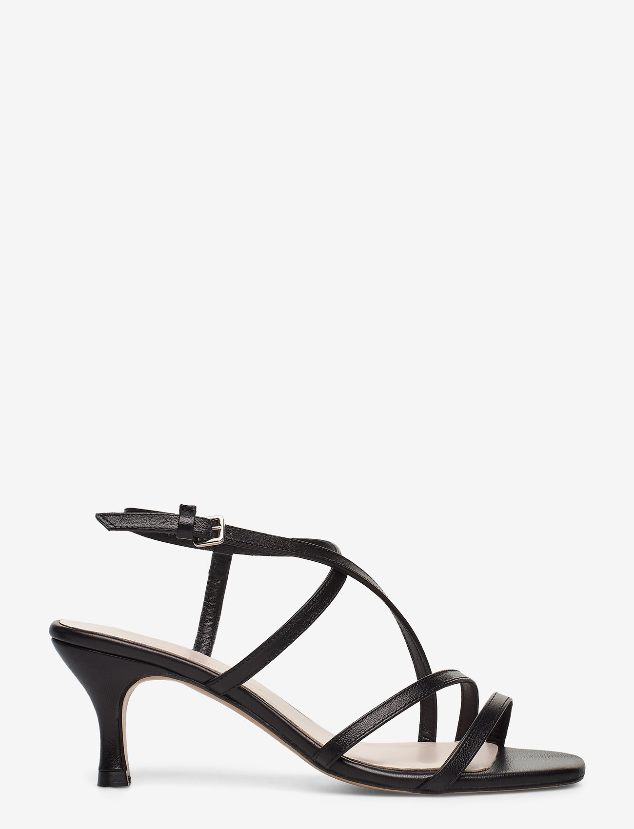Jennie-Ellen - Sybil - høyhælte sandaler - black leather