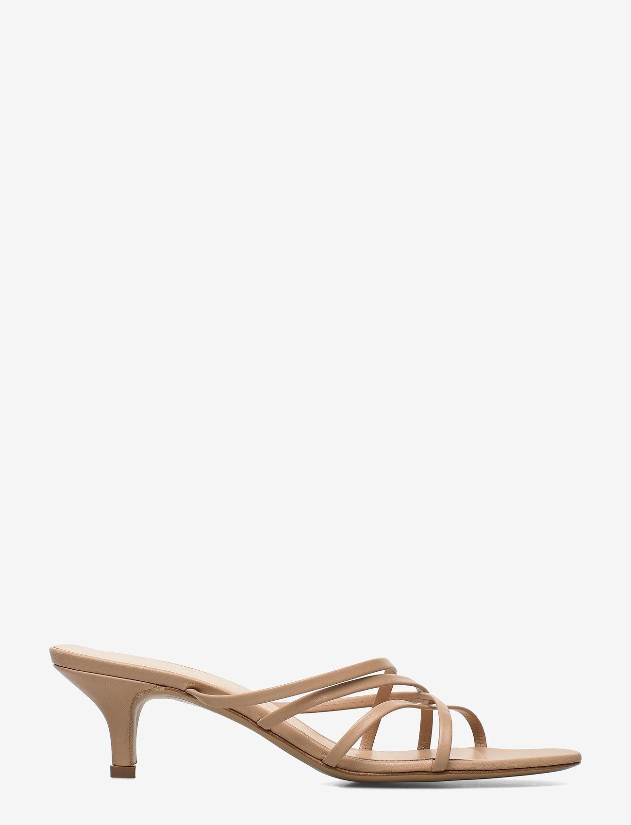 Jennie-Ellen - Fransyska - mules & slipins - beige leather - 1