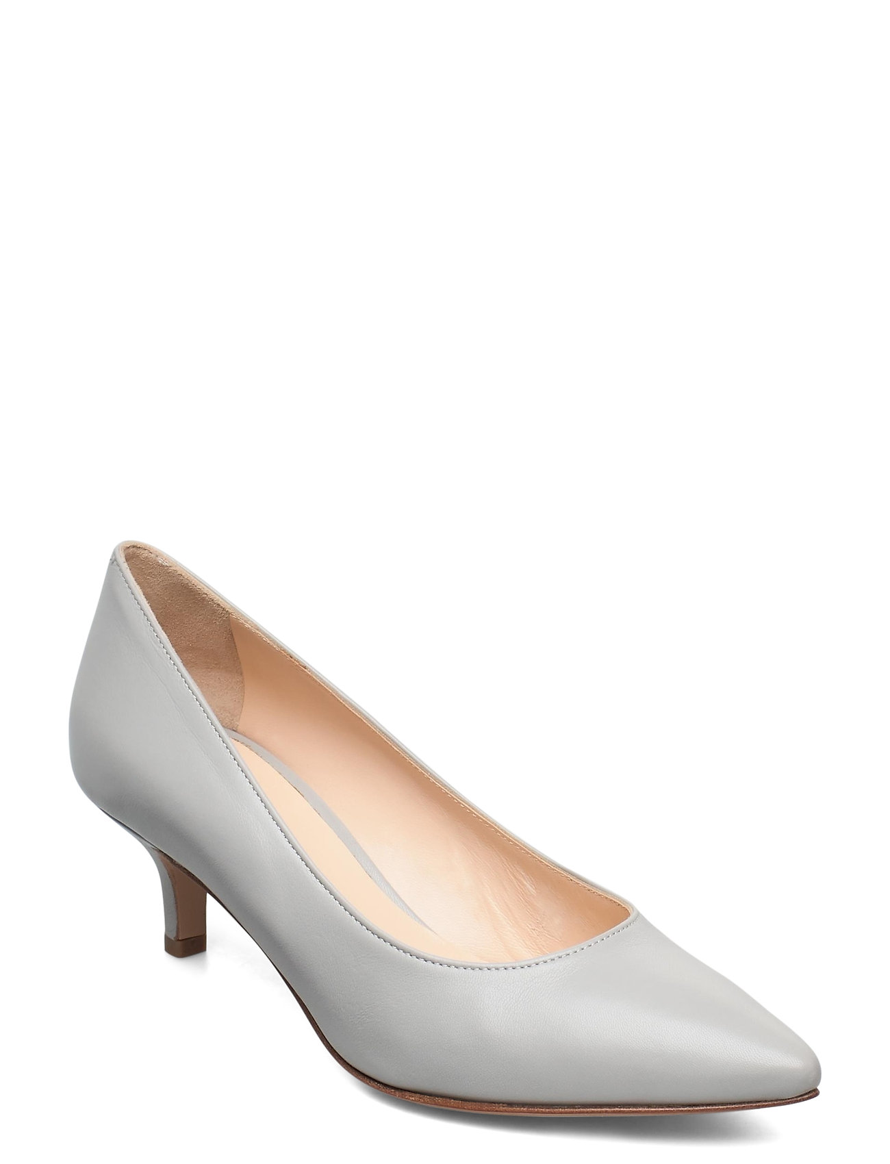 Image of Loui Shoes Heels Pumps Classic Grå Jennie-Ellen (3473872613)