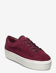 Jennie-Ellen - BAE - lage sneakers - burgundy suede leather - 0