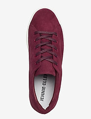 Jennie-Ellen - BAE - lage sneakers - burgundy suede leather - 3