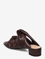 Jennie-Ellen - Mae - mules & slipins - brown leather - 2