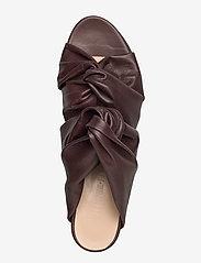 Jennie-Ellen - Mae - mules & slipins - brown leather - 3