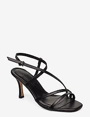 Jennie-Ellen - Anais - høyhælte sandaler - black leather - 0