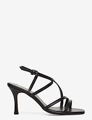 Jennie-Ellen - Anais - høyhælte sandaler - black leather - 1