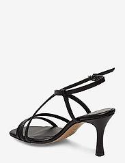 Jennie-Ellen - Anais - høyhælte sandaler - black leather - 2