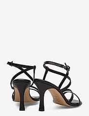 Jennie-Ellen - Anais - høyhælte sandaler - black leather - 4