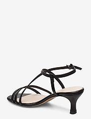 Jennie-Ellen - Sybil - høyhælte sandaler - black leather - 2