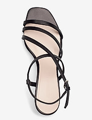 Jennie-Ellen - Sybil - høyhælte sandaler - black leather - 3