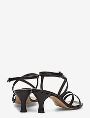 Jennie-Ellen - Sybil - høyhælte sandaler - black leather - 4