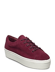 BAE - BURGUNDY SUEDE LEATHER