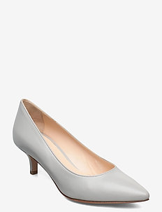 Loui - klassieke pumps - grey leather