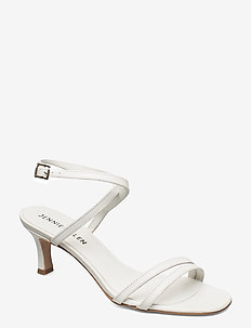 Miss - sandalen met hak - white leather