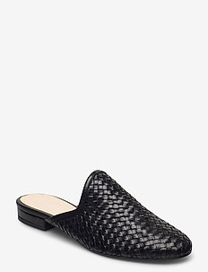 Florence - mules & slipins - black leather