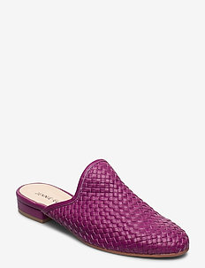 Florence - mules - purple leather