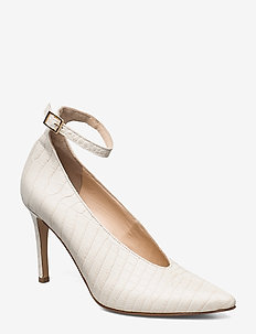 Wednesday - classic pumps - creme suede