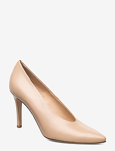 Pinch me - classic pumps - beige leather