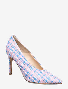 Pinch me - classic pumps - checked textile