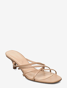 Fransyska - mules & slipins - beige leather