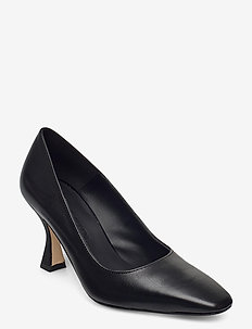 Eve - classic pumps - black leather