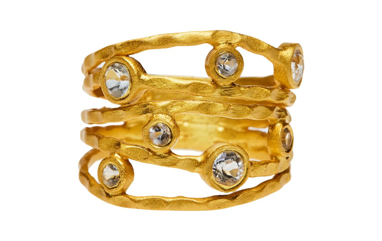 Jewlscph Ring TWISTED GEM