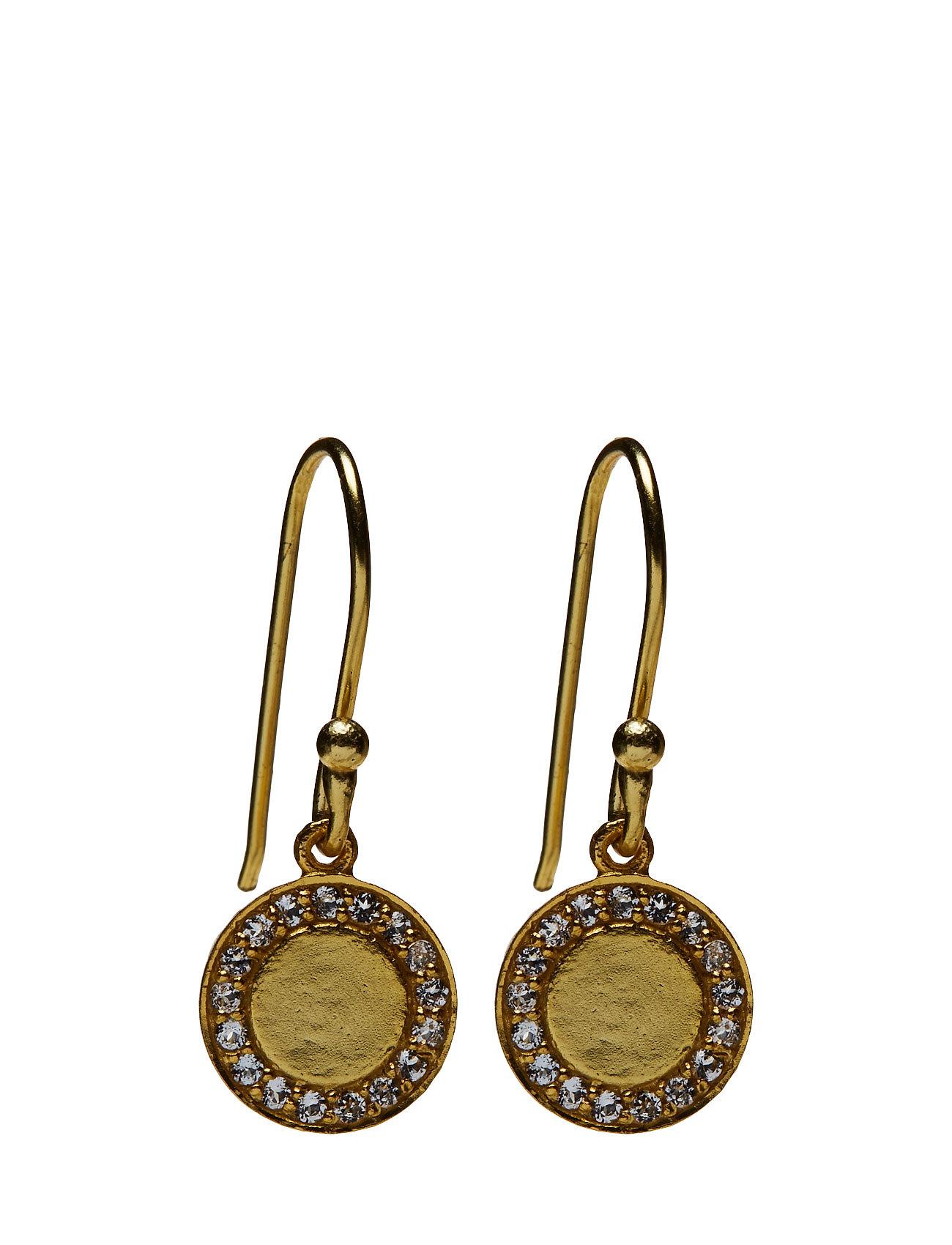 Halo Medalion Earrings - Jewlscph