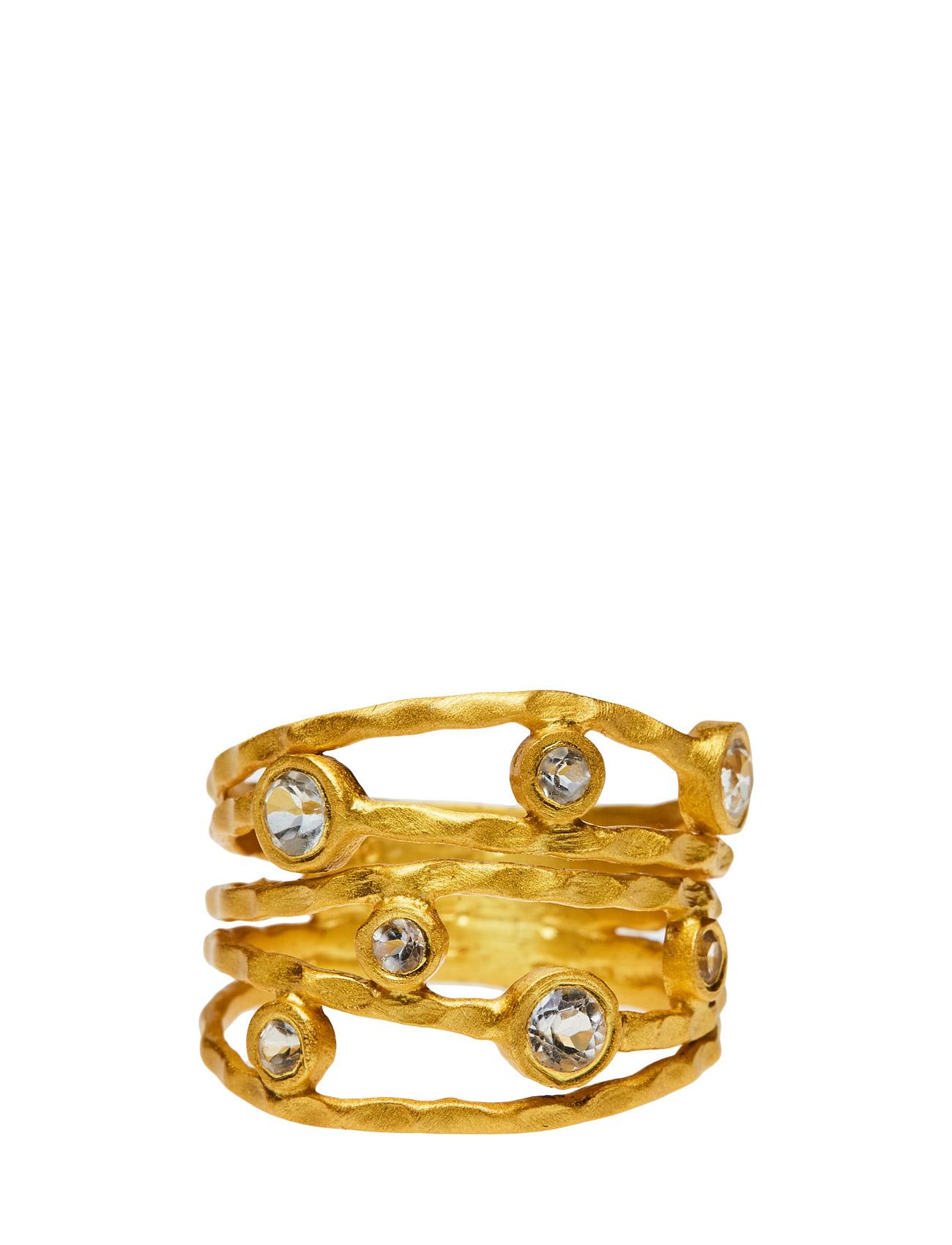 Ring Twisted Gem - Jewlscph