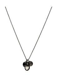 Necklace BE CHARMED - SMOKY TOPAS, BLACK ONYX