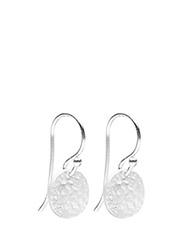 Earrings MEDALION - SILVER