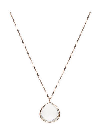 Necklace GRACIOUS - WHITE TOPAZ