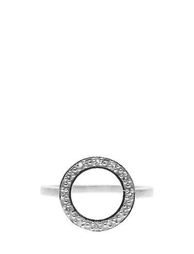 Ring HALO - WHITE TOPAZ