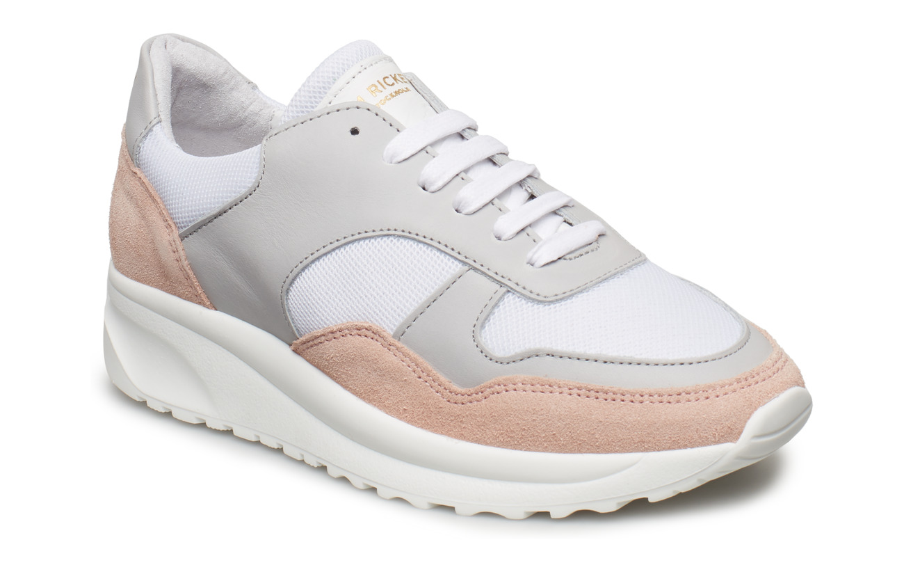 Jim Rickey Race - Suede/Mesh - LT.PINK/LT.GREY/WHITE