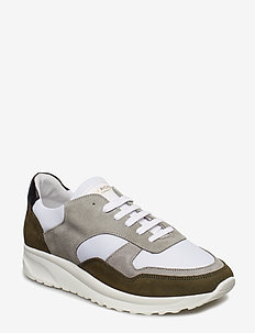 Race - Cow Suede / Mesh - BIRCH/LT.GREY/WHITE