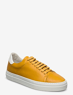 PULP CAP TOE LEATHER - lav ankel - yellow