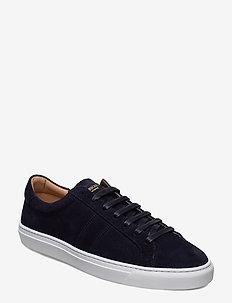 BLANK - COW SUEDE - låga sneakers - navy