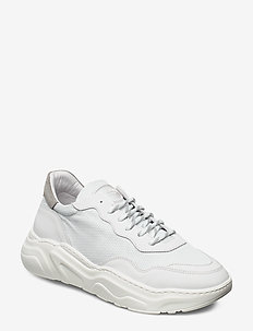 WINNER - LEATHER/MESH - przed kostkę - white