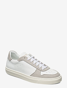 WING - VEGAN SUEDE/VEGAN LEATHER - przed kostkę - white/lt.grey