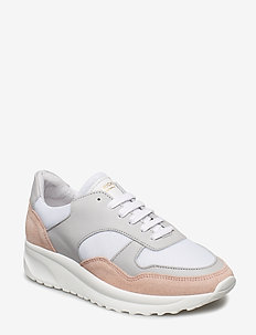 Race - Suede/Mesh - LT.PINK/LT.GREY/WHITE