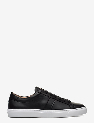 BLANK - FLAT LEATHER - laag sneakers - black