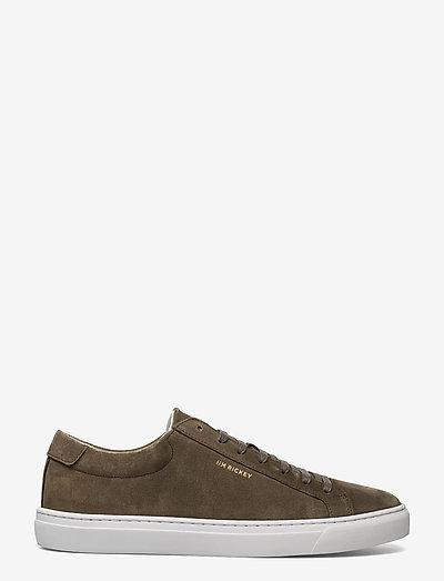 CHOP PT - SUEDE - laag sneakers - birch
