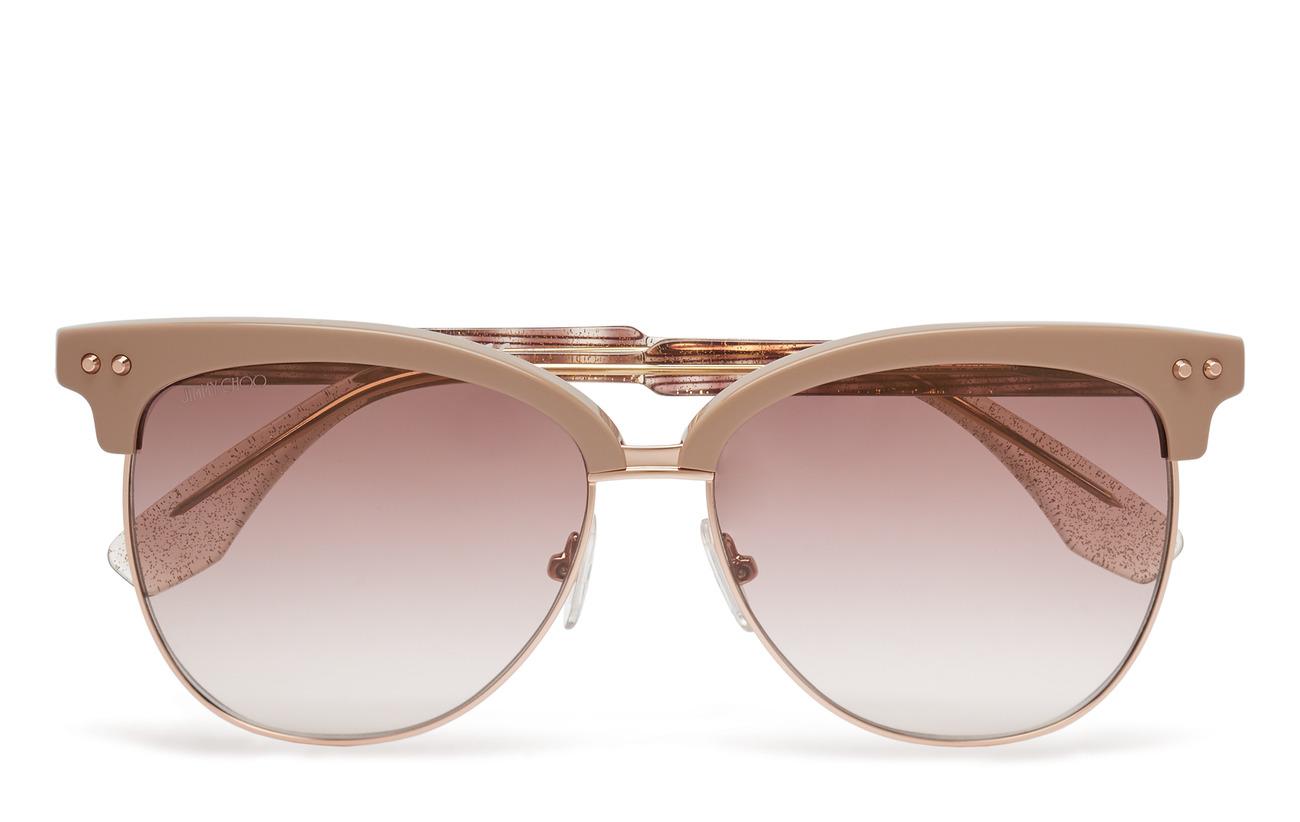 bdd76df7ed81 Araya s (Beigdglbw) (£212.80) - Jimmy Choo Sunglasses -