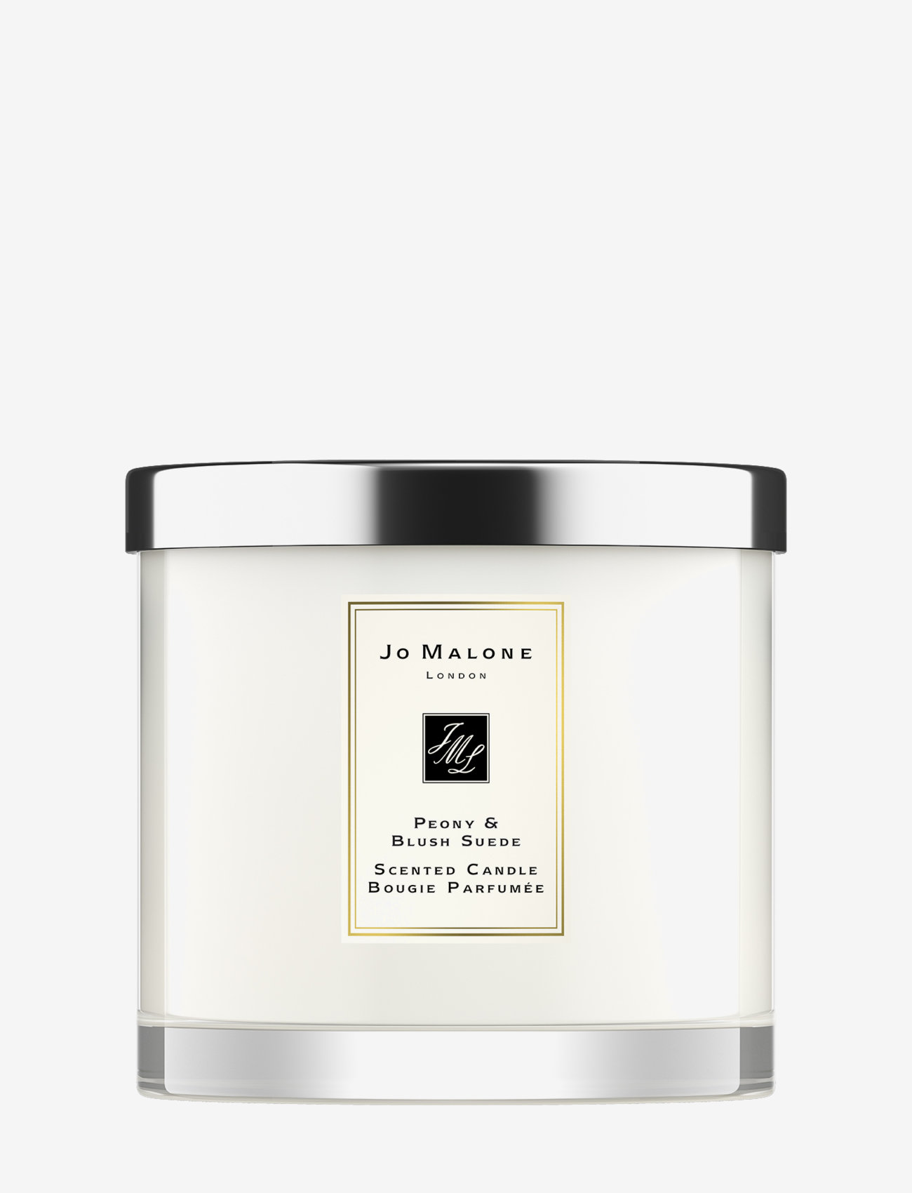 Jo Malone London - Peony & Blush Suede Home Candle Pre-pack - doftljus - clear - 0