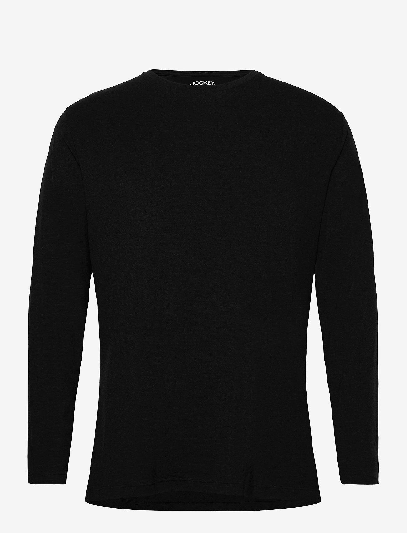 Jockey - Merino Thermal Longsleeve Shirt - thermo ondershirts - black - 0