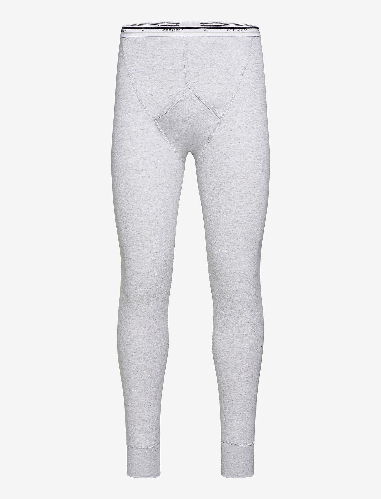 Jockey - Long spurt - base layer bottoms - grey - 0